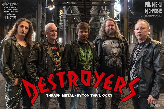 Patronat AMM: Destroyers zagra 11. stycznia w Dąbrowie!