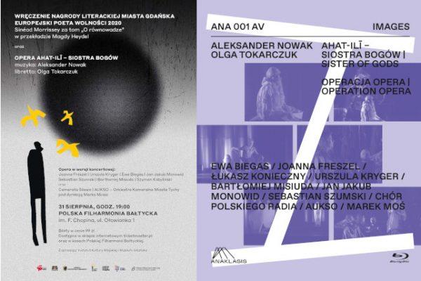 Koncertowe wykonanie opery ahat-ilī – siostra bogów Aleksandra Nowaka połączone z premierą serii IMAGES od ANAKLASIS